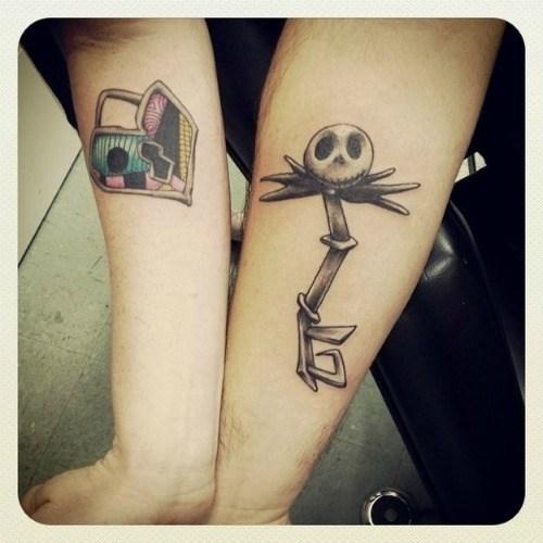 couple tattoo infinity designs