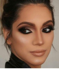 smokey eye makeup wedding