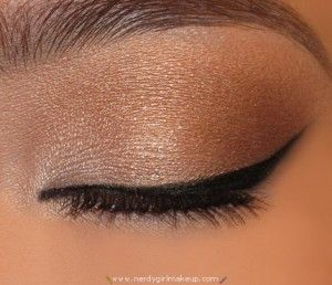 your eyeliner freehand