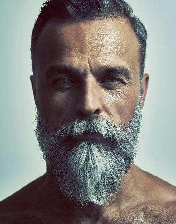 long moustache short beard over 50