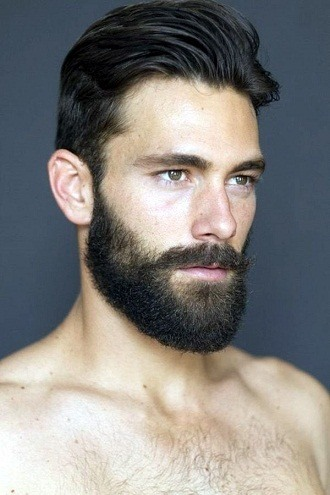 beard style for round face