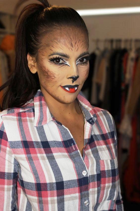 horror face makeup ideas for ladies