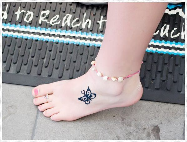 lower leg small tattoos for females