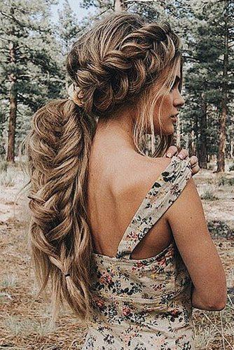 Fishtail and other ornate braid styles