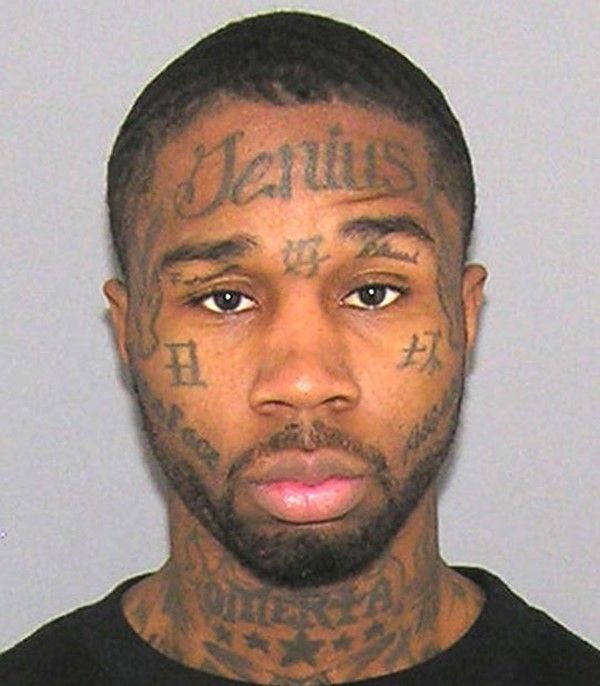 face tattoos or facial tattoos