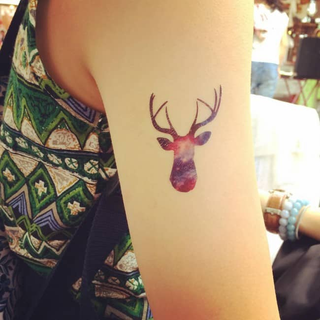 deer tattoos you've never seen