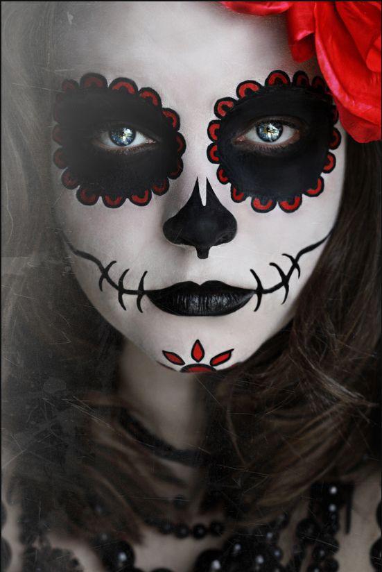 best  halloween skeleton face paint
