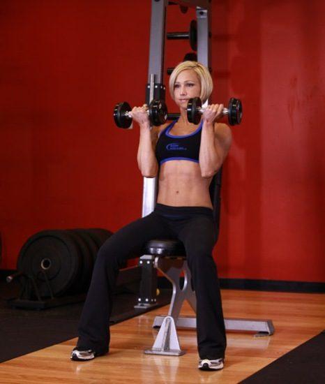 Arnold Press Workout