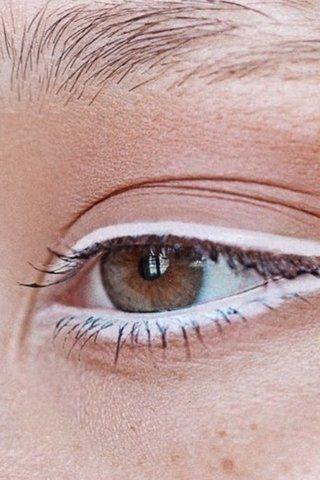 white eye pencil