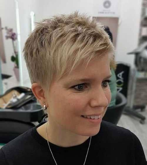 pixie haircuts for women over 40 images