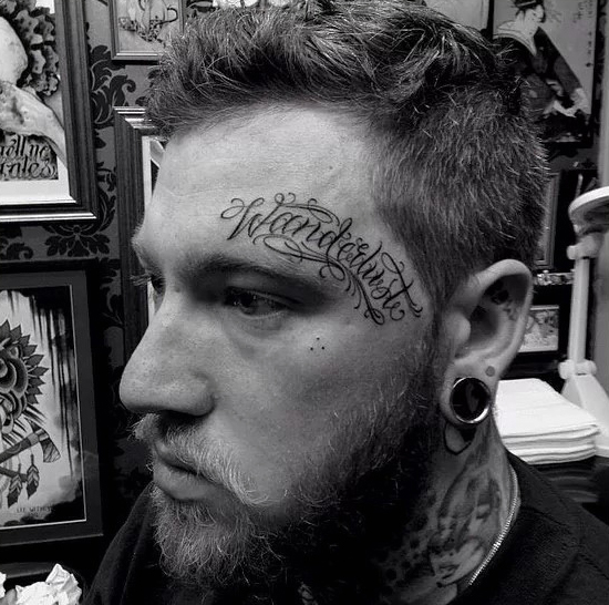 FACE TATTOOS MEN