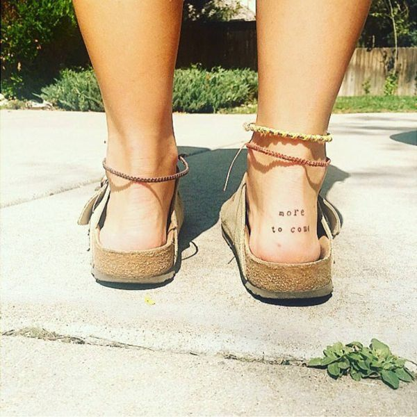 letters ankle tattoos for women design images