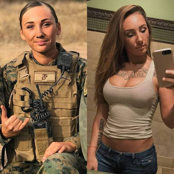 hottest israeli female soldiers body curves