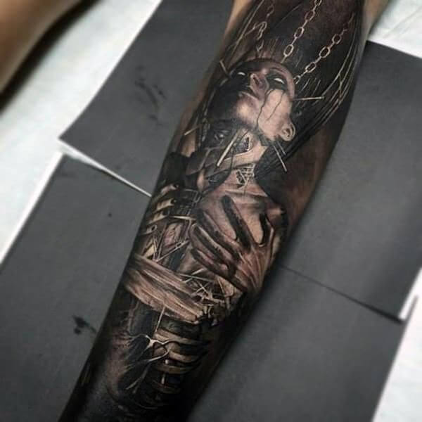 full female unique forearm tattoos for guys images