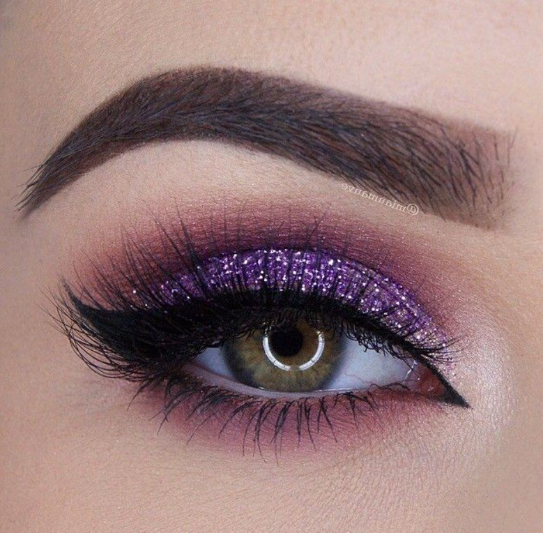 ladies pink and green eyeshadow looks  pictures