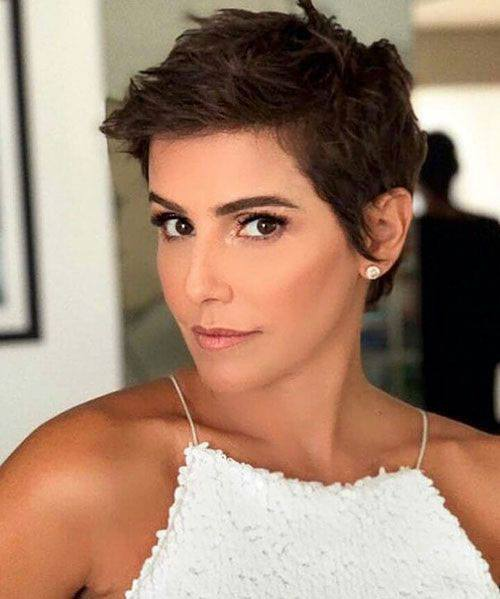 short pixie cuts for thin hair images