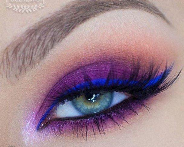 simple pink eyeshadow looks