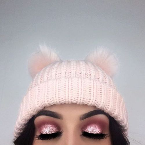 best pink and silver eyeshadow for ladies