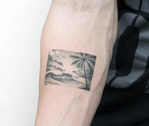 meaningful tattoos for guys on arm design