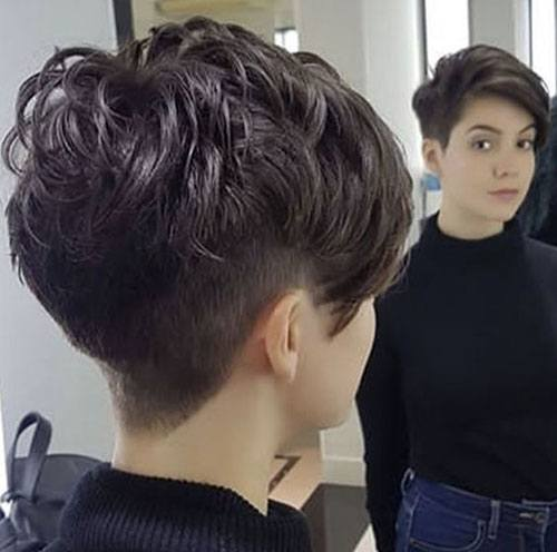 ultra short pixie cut