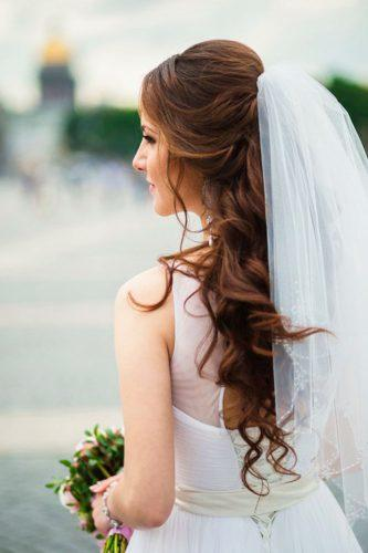 side bun hairstyles for wedding