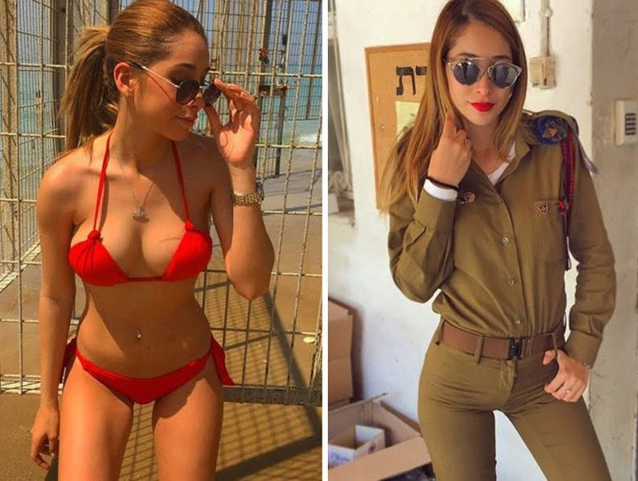 beautiful military girls all body parts