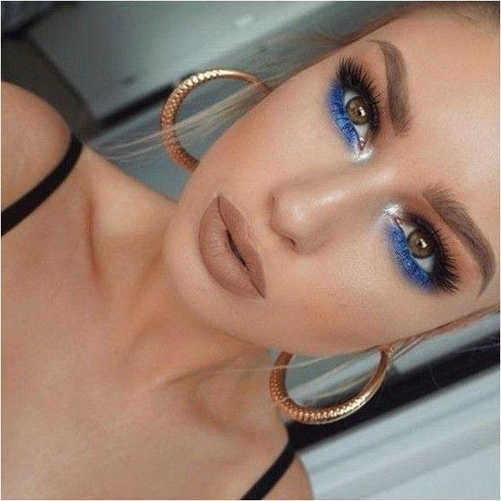 best blue and pink eyeshadow look ladies ideas