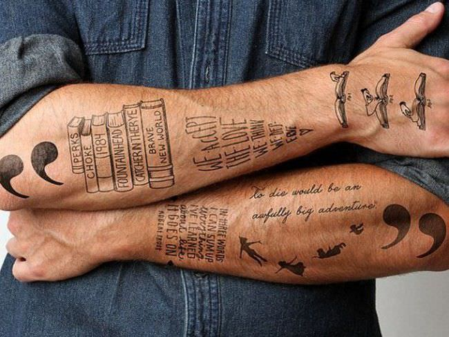 lower arm sleeve tattoos for guys