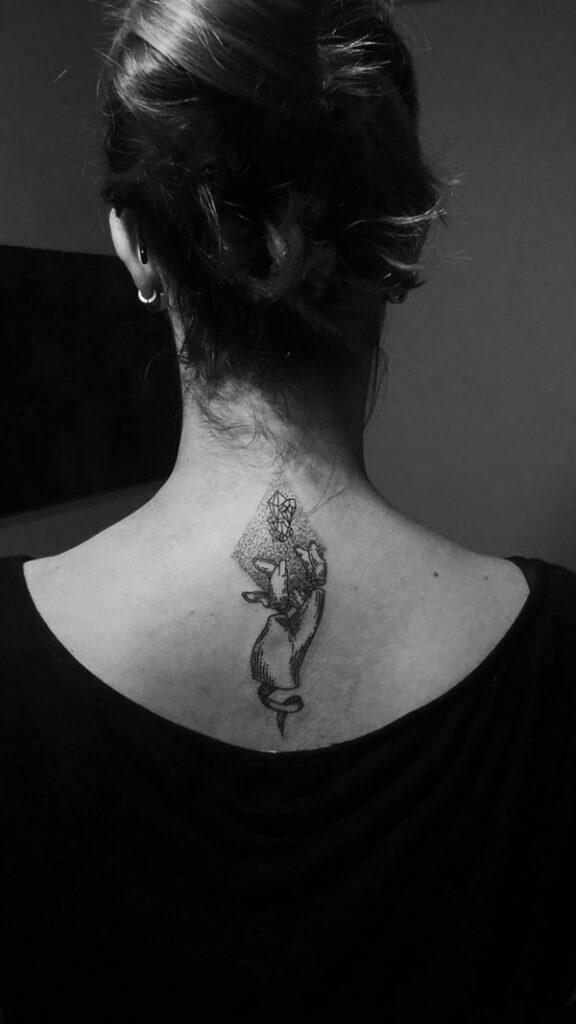 virgo tattoo designs for females on back