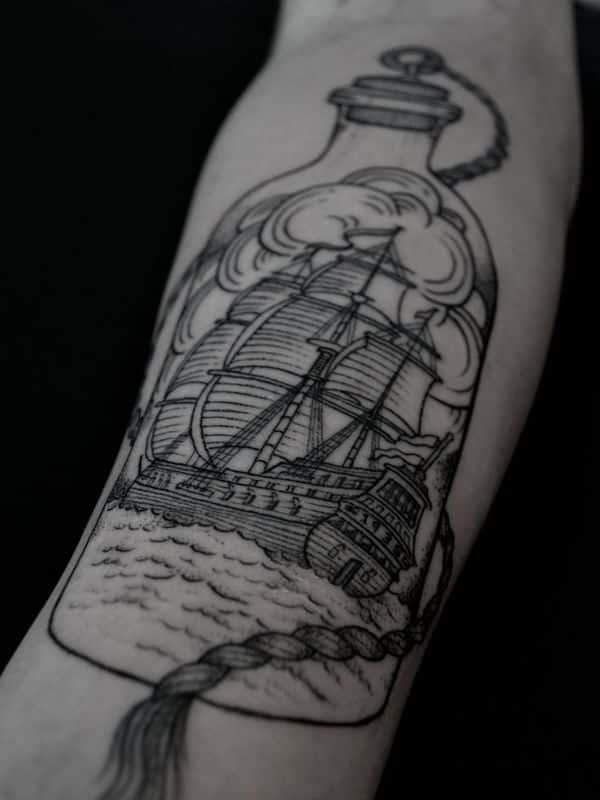 best pattern forearm tattoo for men