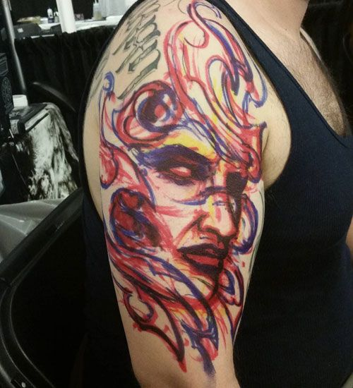 full arm tattoos for guys images