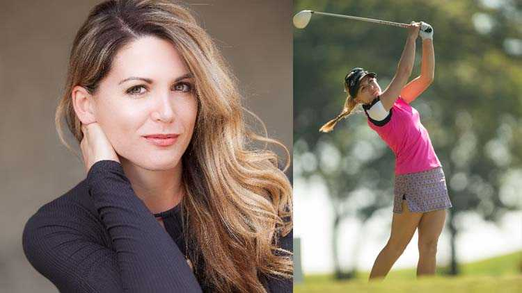 lady golfers perfect body