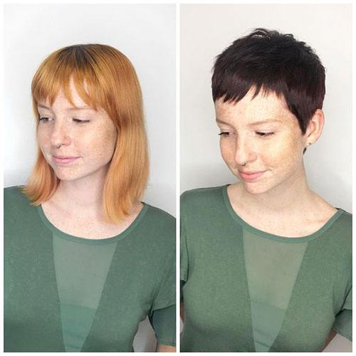 best short pixie haircuts for female over 30 picture