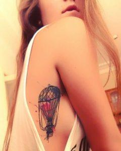 side body tattoos for females on stomach images