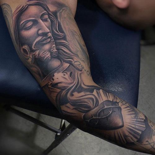 modern men's tattoo design arm artworks
