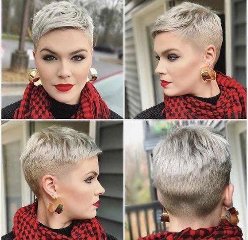 great short pixie cut styles
