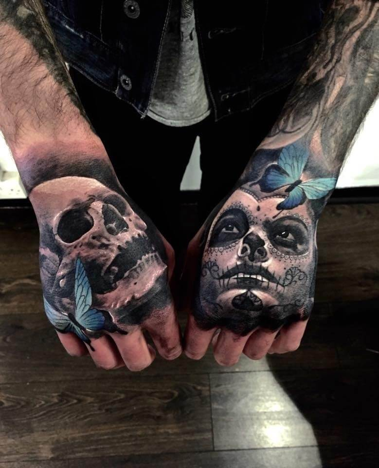 tattoo designs hand male