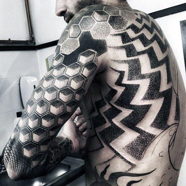 full body peace tattoos for guys