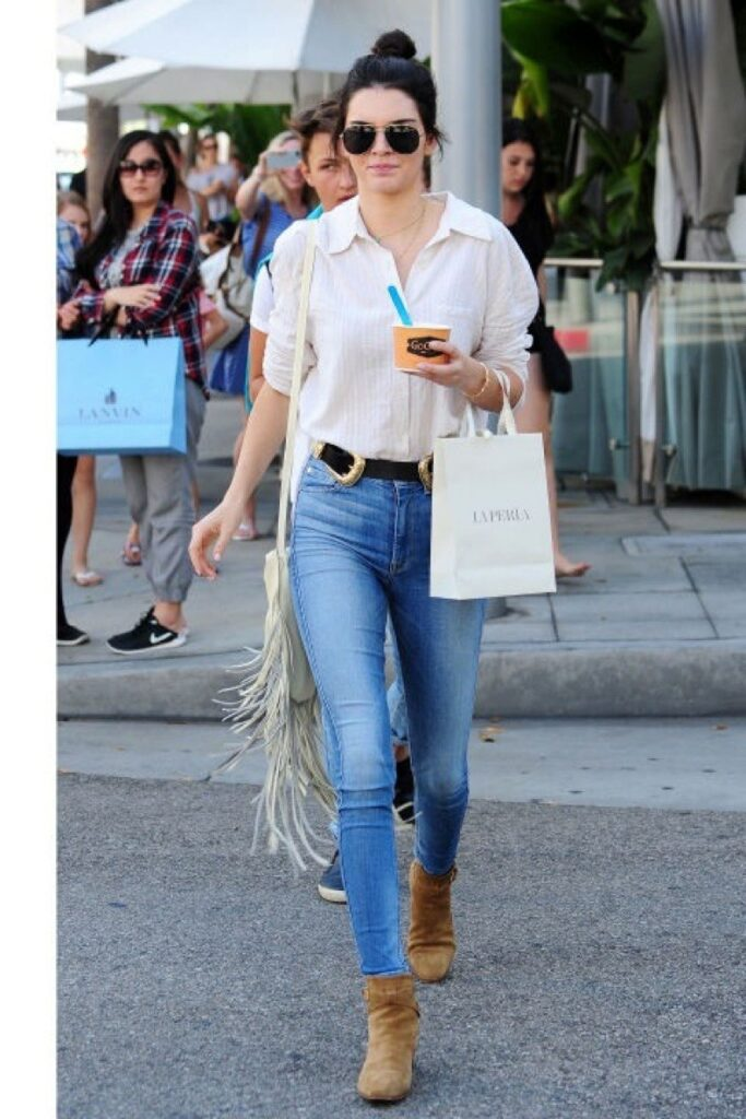 KENDALL JENNER STYLISH CLOTHES