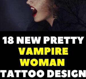 18  PRETTY VAMPIRE TATTOOS FOR FEMALES DESIGN