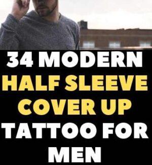 HALF SLEEVE COVER UP TATTOO