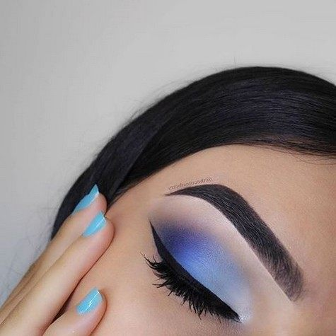 best smokey eye step by step for blue eyes images
