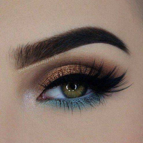 trends simple eyeshadow looks for blue eyes