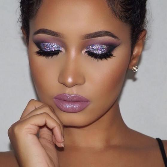cute eyeshadow looks for blue eyes images 2021