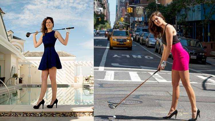 hot lady golfers in the world