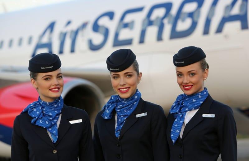 cabin crew beauties serbian hot women