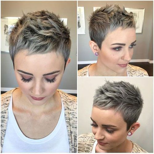 temporary pixie cut curly hair for ladies ideas images