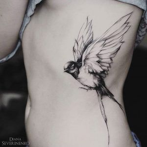 side tattoos ideas for female