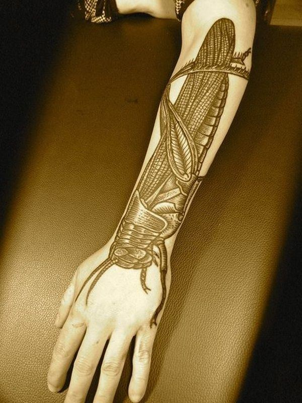 cool upper arm tattoos