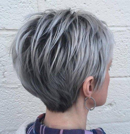women short cropped hair in 2021
